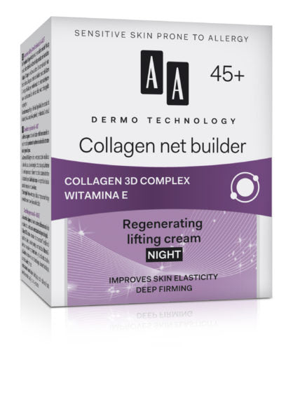 AA DERMO TECHNOLOGY - Collagen net builder (Night Cream)