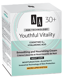 AA Cosmetics (Age Technology 30+) Smoothing and Nourishing Night Cream