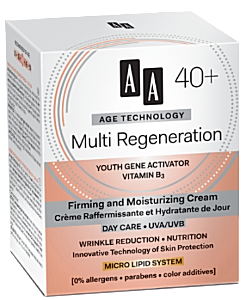 AA Cosmetics (Age Technology 40+) Firming and Moisturizing Day Cream Multi Regeneration