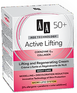 AA Cosmetics (Age Technology 50+) Lifting and Regenerating Night Cream