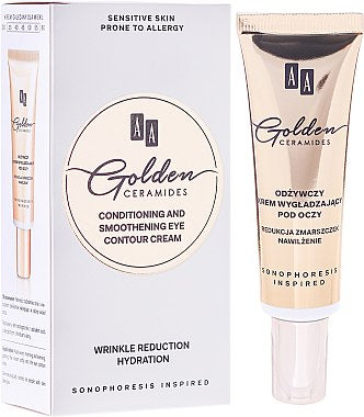 AA GOLDEN CERAMIDES - Conditioning and smoothening eye contour cream