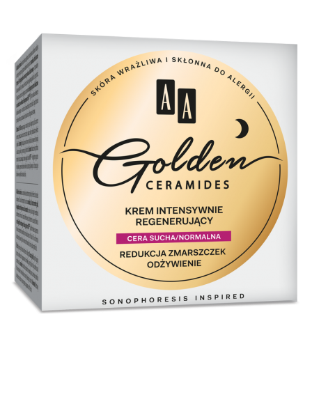 AA GOLDEN CERAMIDES - Intensive regenerating night cream
