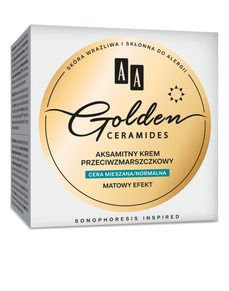AA GOLDEN CERAMIDES - Velvet anti-wrinkle day cream