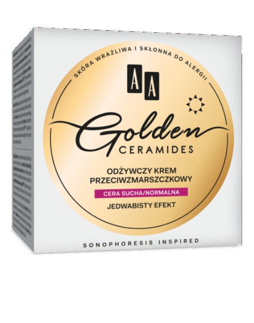 AA GOLDEN CERAMIDES - Conditioning anti-wrinkle day cream