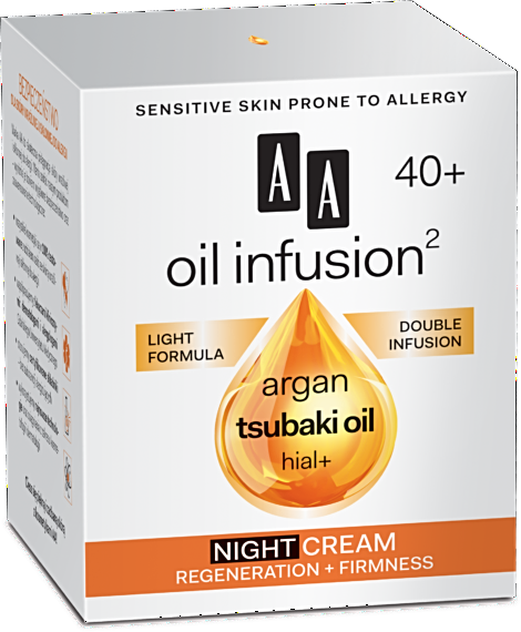AA Oil Infusion Double Infusion ( 40+) Night Cream