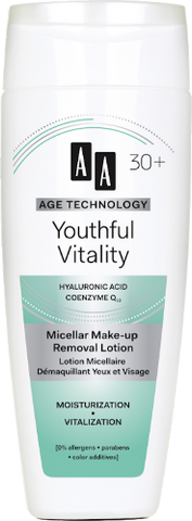 AA Cosmetics (Age Technology 30+) Micellar Make up Removal Lotion