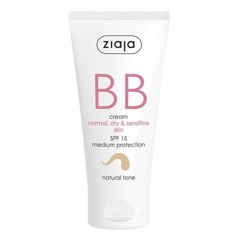 Ziaja BB Cream - Normal, Dry & Sensitive (Natural Tone)