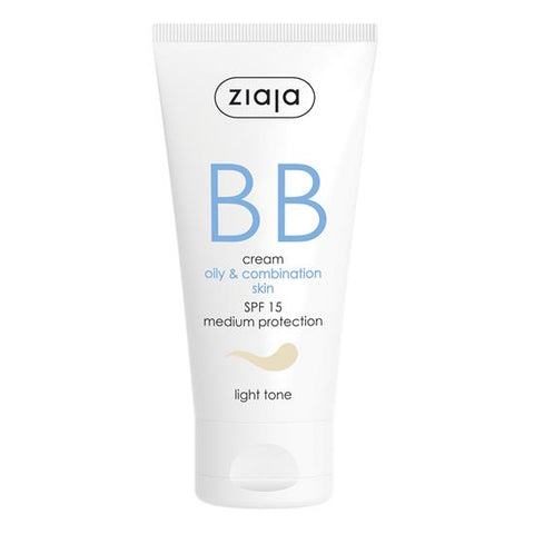 Ziaja BB Cream - Oily & Combination Skin (Light Tone)