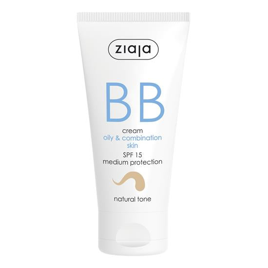 Ziaja BB Cream - Oily & Combination Skin (Natural Tone)