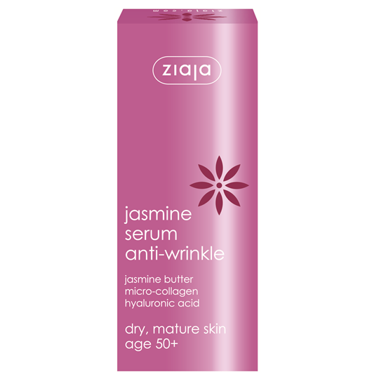 Ziaja Jasmine 50+ Serum Anti-wrinkle - Face Neck Serum