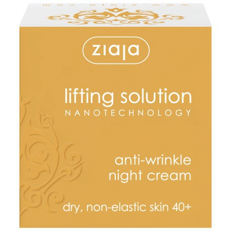 Ziaja Lifting Solution Nanotechnology Night Cream