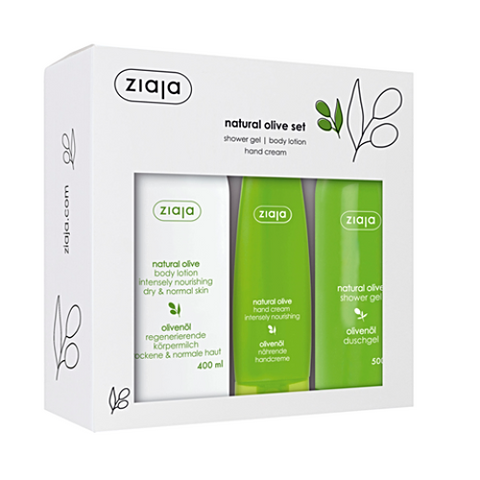 Ziaja Natural Olive Set - GREAT VALUE!