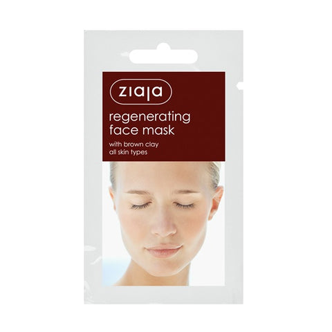 Ziaja - Brown Clay Regenerating Face Mask (x5)