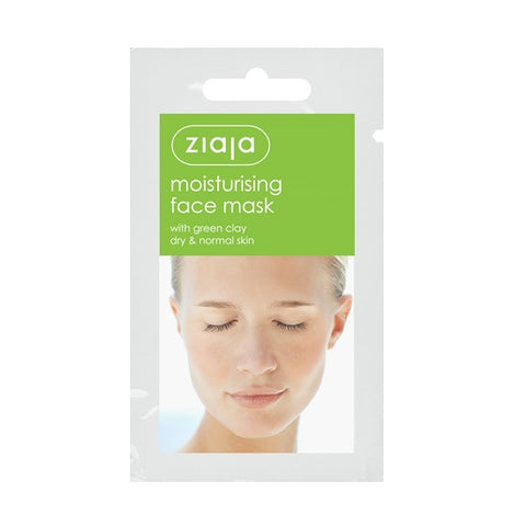 Ziaja - Green Clay Moisturizing Face Mask (x5)