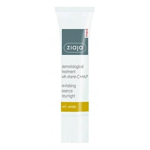 Ziaja Med Revitalising Essence for Day/Night Dermatological Treatment With Vit.C