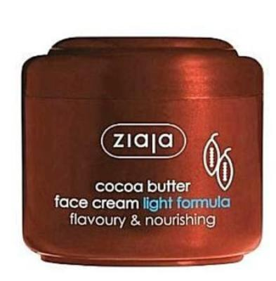 Ziaja Cocoa Butter Cream - Light Formula (100mL)