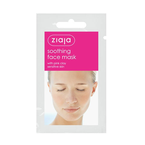 Ziaja - Face Mask Soothing with Pink Clay (x5)