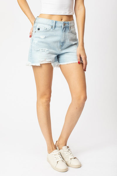 *The Amanda {high rise distressed} Shorts*