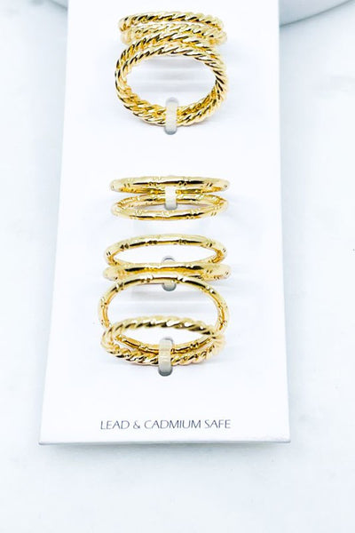 *10 Piece Stackable Ring Set (2 SET OPTIONS)*
