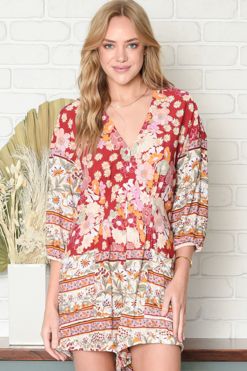 TALLOW - FLOWER CHILD PRINT