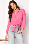 PRESTON SHIRT - FUSHIA
