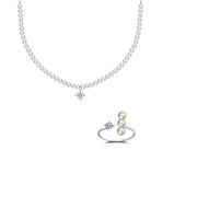 (Limited 10 sets) Pearl Necklace & Ring Bundle - Genevieve Collection