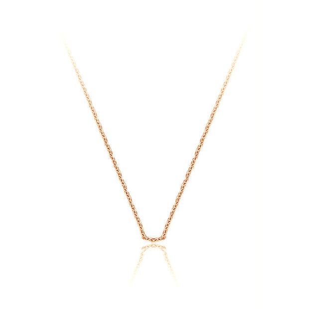18k Gold Chain Necklace - Genevieve Collection
