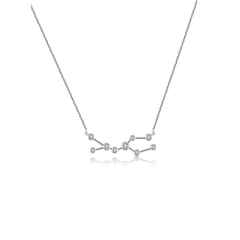 Gemini Diamond Necklace