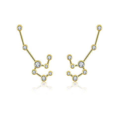 Leo Diamond Earring