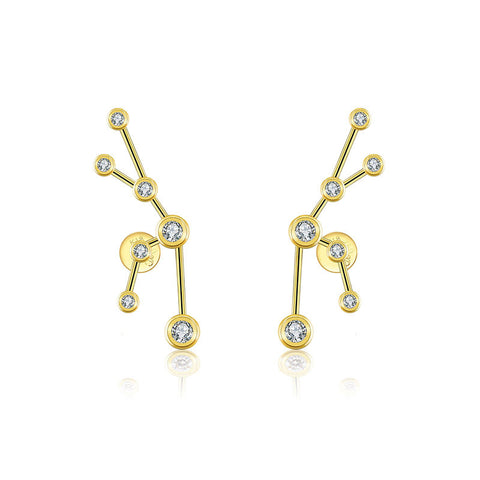 Taurus Diamond Earring