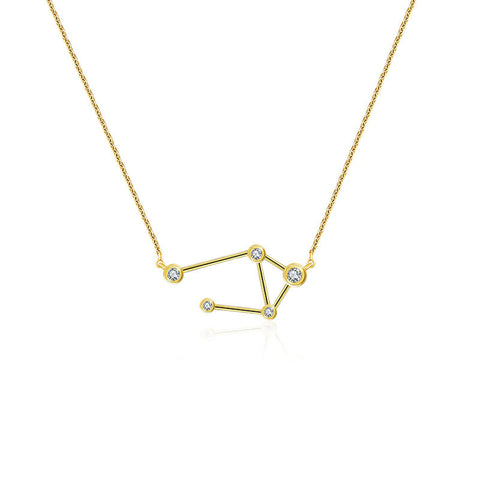 Libra Diamond Necklace