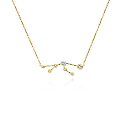 Taurus Diamond Necklace