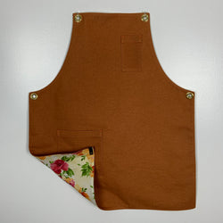 Women's - Rust w/ Flowers