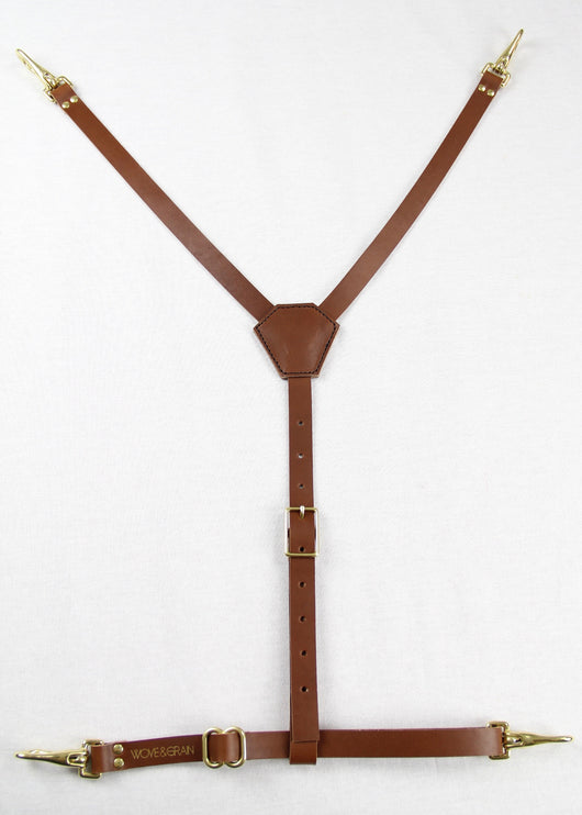 Leather Clasp Harness