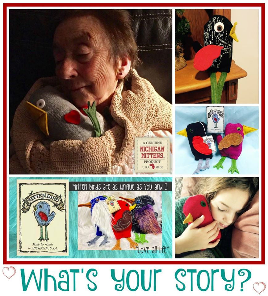 What's your story? A VERY special Michigan Mittens Project