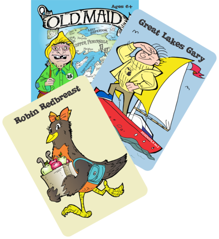 Classic Family Game Night with Old Maid in Michigan for a GREAT cause!