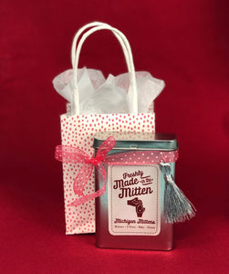 NEW Instant Gift Cards, Collectible Tins & Gift Giving made simple with Michigan Mittens & Gifts!