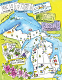 The Twelve Months of Michigan , Book