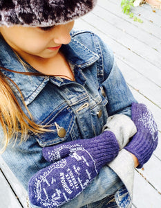 YOUTH Original Michigan Mittens