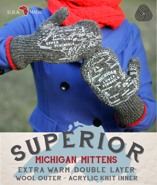 SUPERIOR MICHIGAN MITTENS