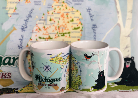 Michigan State Parks Classic Coffee Mug
