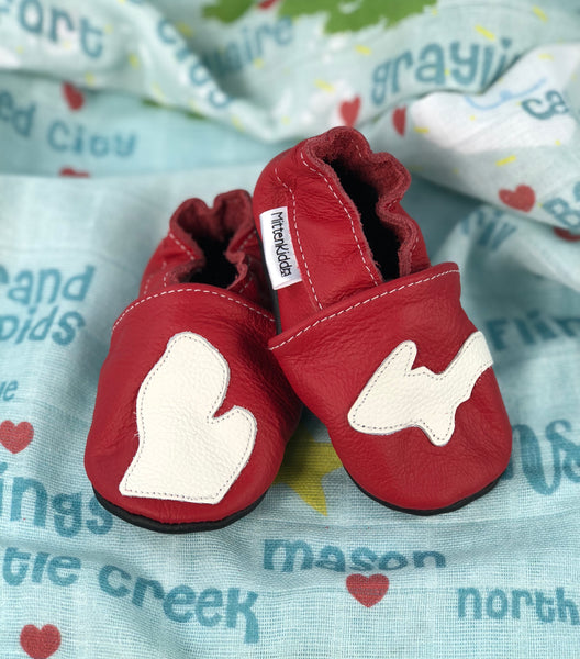 MITTEN KIDDO - Soft Leather Baby Shoes