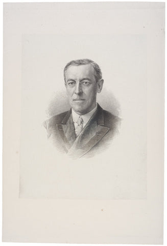 Vignette of Woodrow Wilson by G.F.C. Smillie