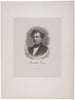 c. 1880 Print: Franklin Pierce, by BEP