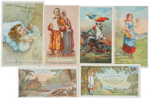 Advertising Trade Cards, Encased Postage Related