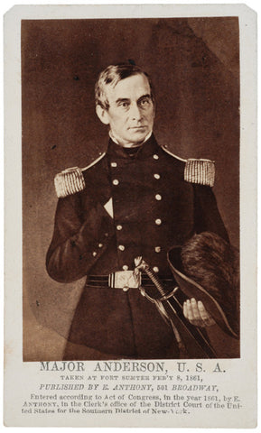 CDV Major Robert Anderson by Anthony