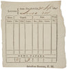 1801-Dated Post Master Record Form
