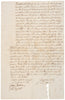 1761-Dated Colonial America, Manuscript Document