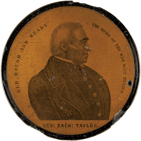 GENERAL ZACHARY TAYLOR - Portrait Snuffbox