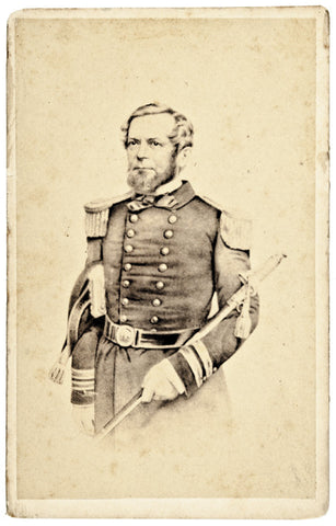 Civil War Union Commodore A. H. Foote CDV
